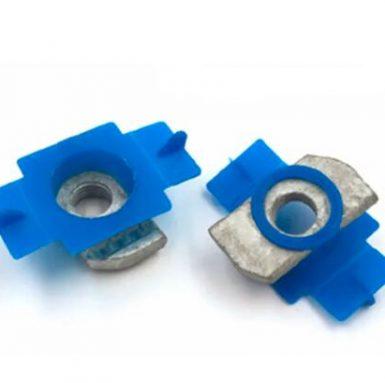 Nakrętka sprężysta plastikowa nakrętka kanałowa